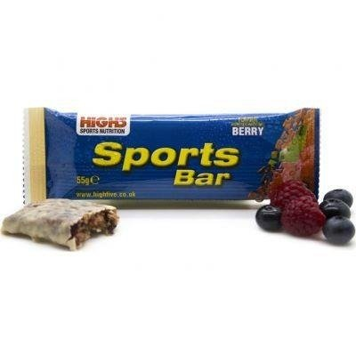 High5 Sports Bar 55g - Energieriegel (Berry)