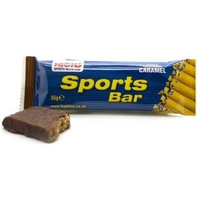 High5 Sports Bar 55g - Energieriegel (Karamell)
